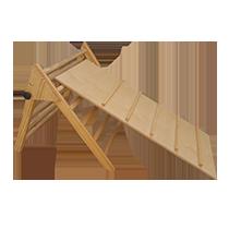 piramide plegable pikler montessori barata economica juguetes astronauta
