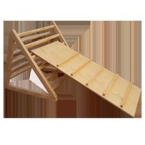 triangulo pokler con rampa piramide montessori barata economica juguetes astronauta
