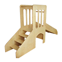 tobogán pikler con escaleras montessori barato economico juguetes astronauta