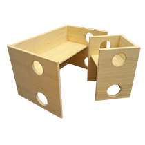 Silla y mesa evolutiva Montessori barata economica juguetes astronauta